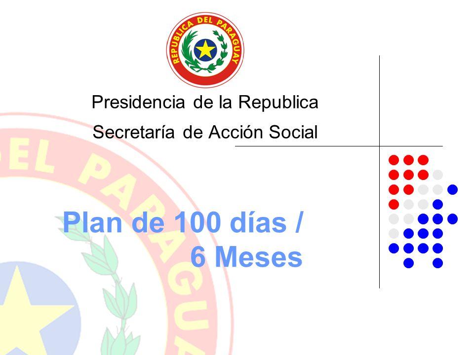 Presidencia de la Republica Secretaría de Acción Social