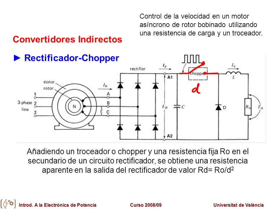 Convertidores Indirectos ► Rectificador-Chopper