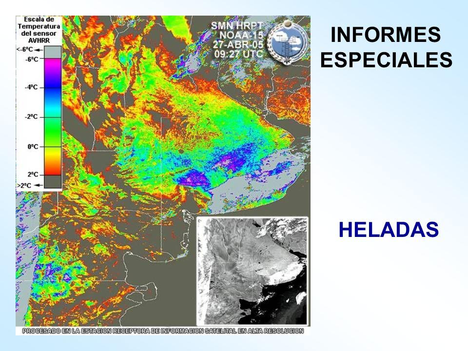 INFORMES ESPECIALES HELADAS