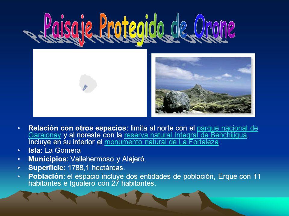 Paisaje Protegido de Orone