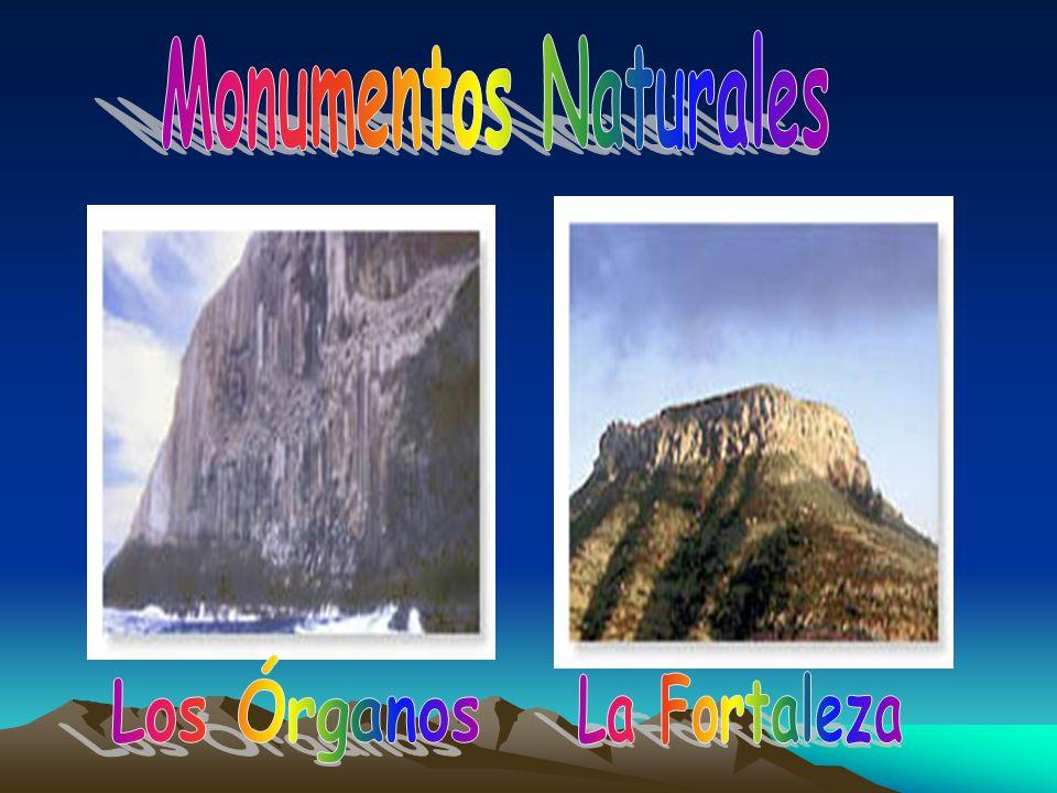 Monumentos Naturales Los Órganos La Fortaleza