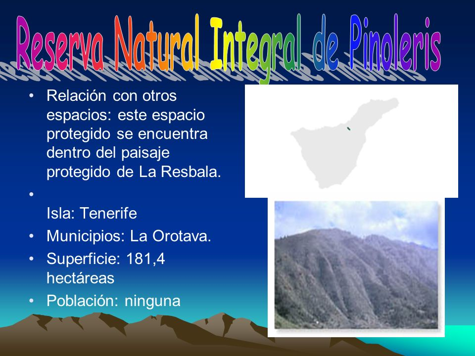 Reserva Natural Integral de Pinoleris