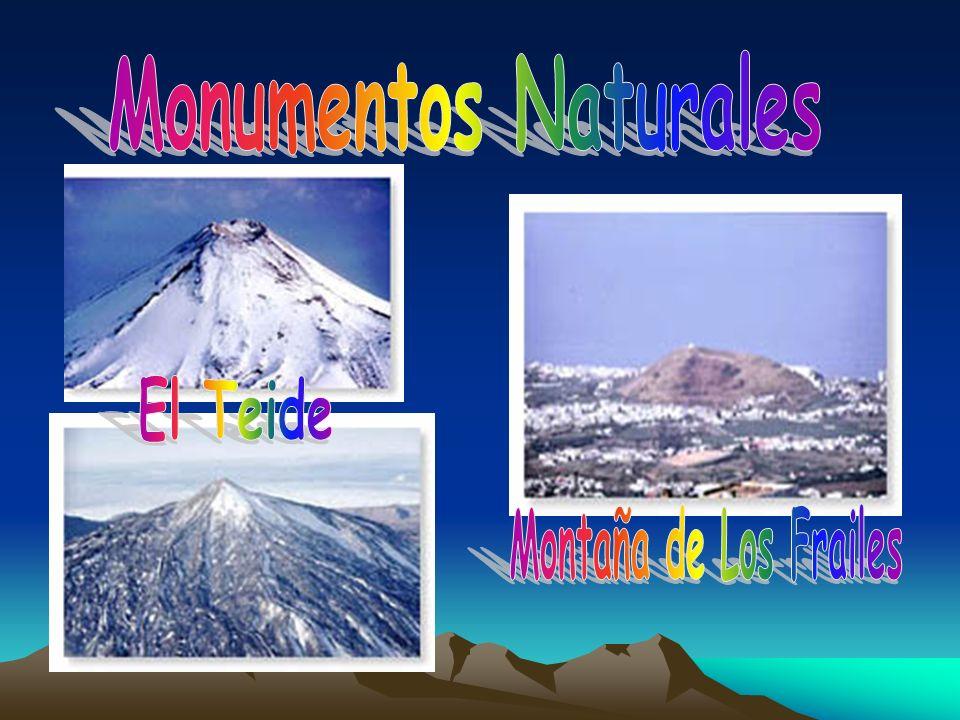 Monumentos Naturales El Teide Montaña de Los Frailes