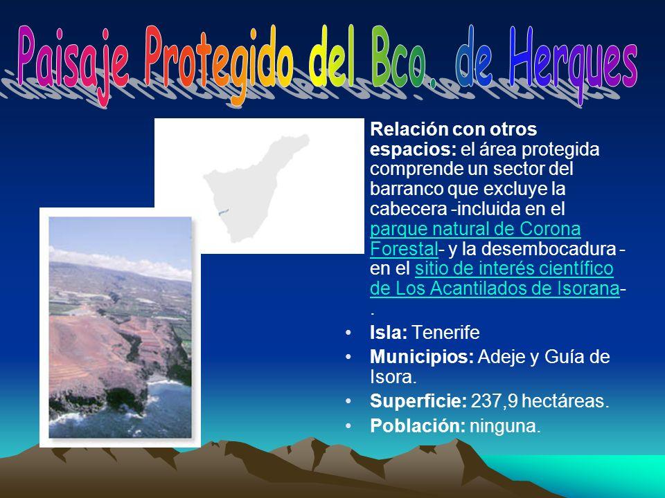 Paisaje Protegido del Bco. de Herques