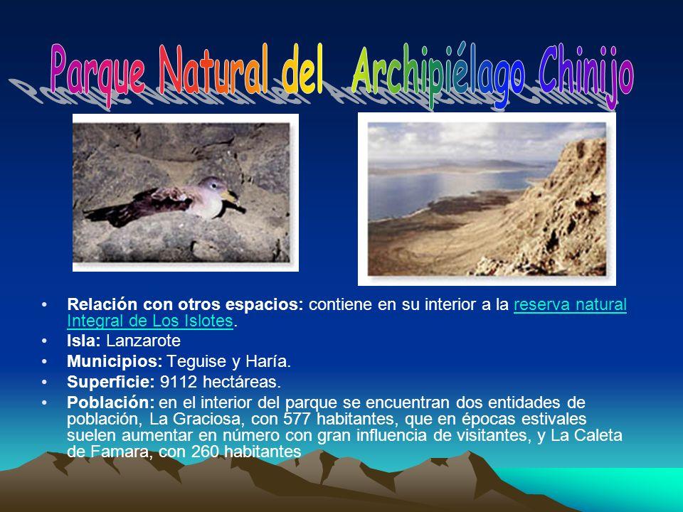 Parque Natural del Archipiélago Chinijo