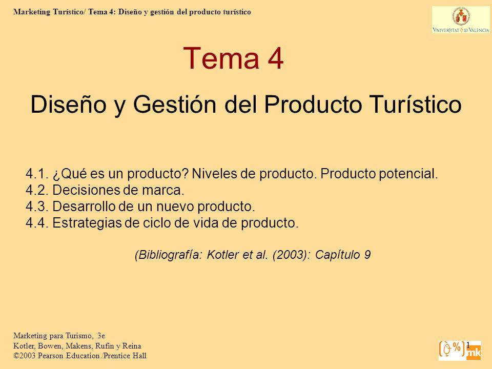 Diseño y Gestión del Producto Turístico