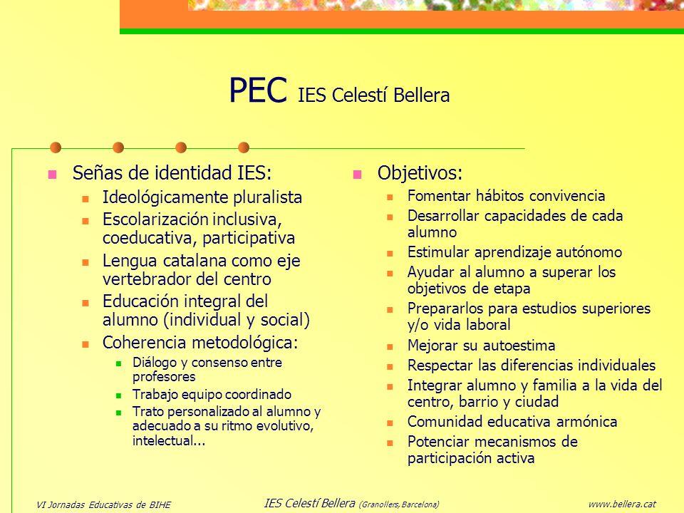 PEC IES Celestí Bellera