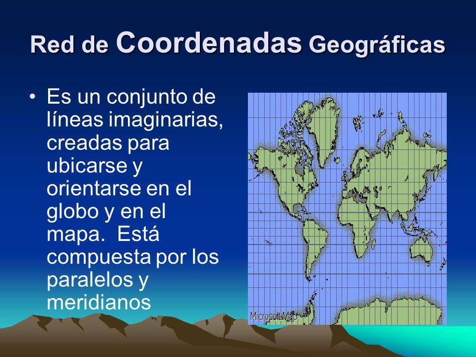 Red de Coordenadas Geográficas
