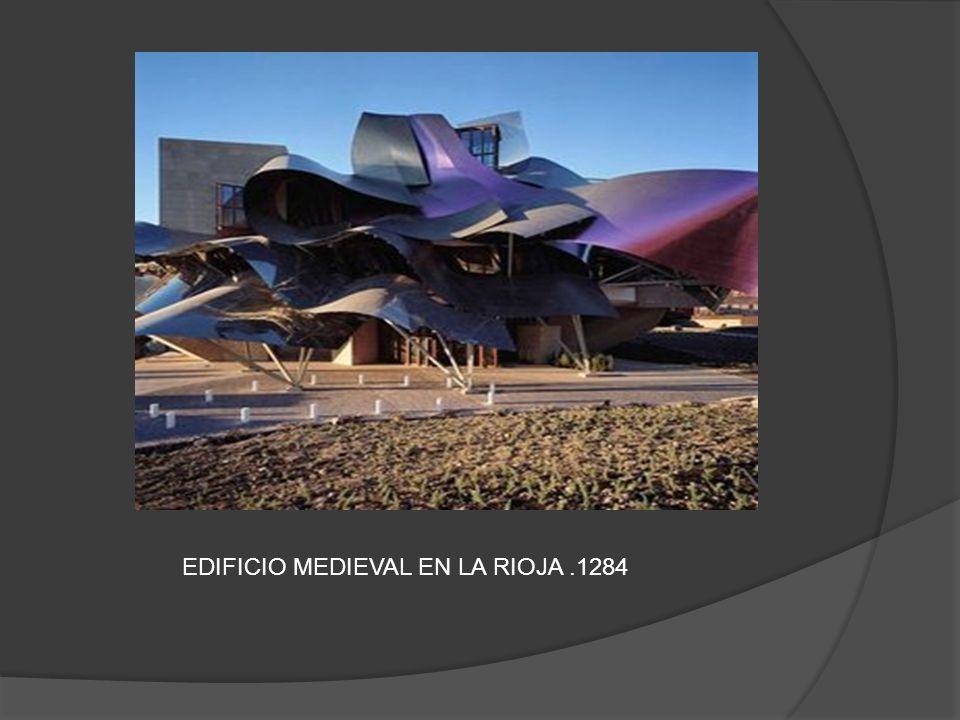 EDIFICIO MEDIEVAL EN LA RIOJA .1284