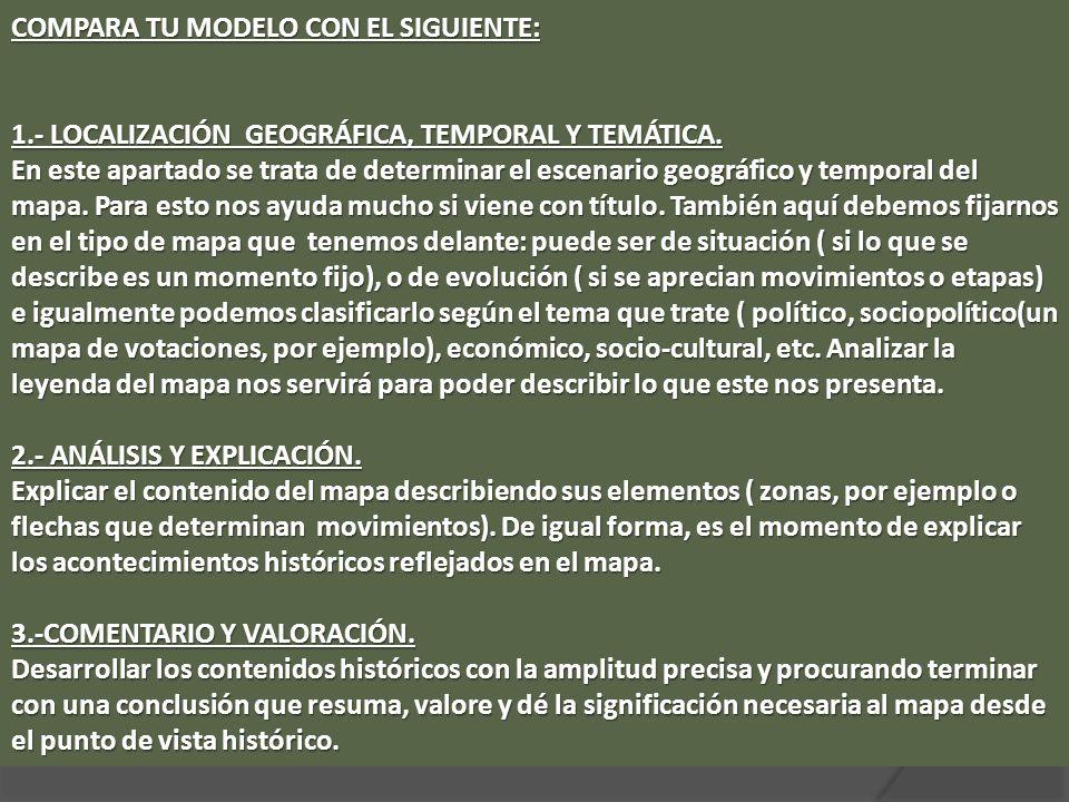 COMPARA TU MODELO CON EL SIGUIENTE: