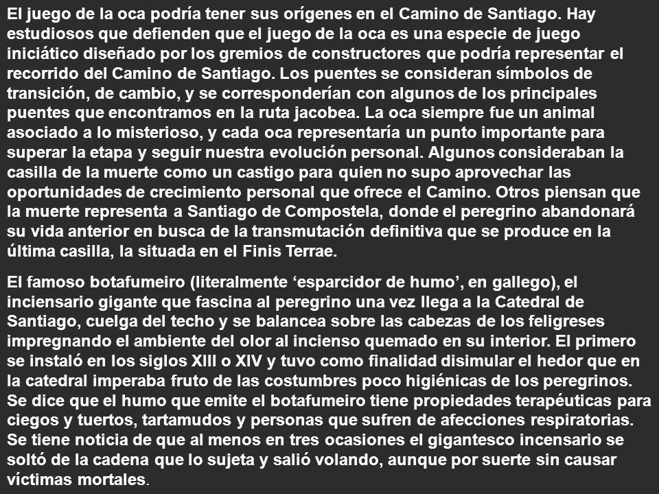 El juego de la oca podría tener sus orígenes en el Camino de Santiago