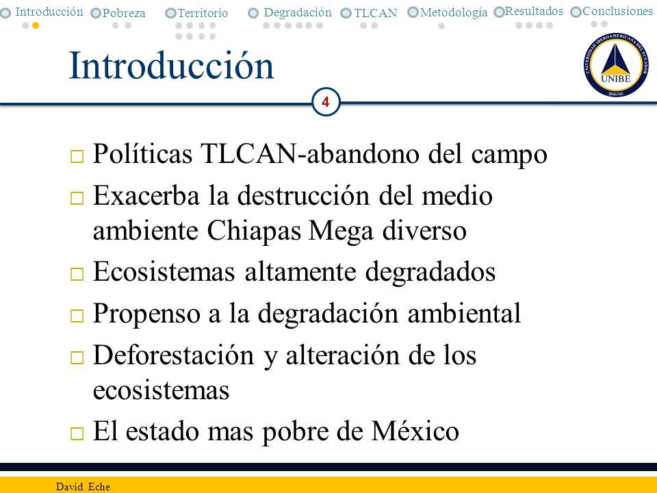 Introducción Políticas TLCAN-abandono del campo