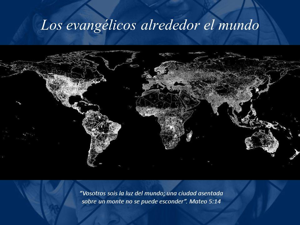 Los evangélicos alrededor el mundo