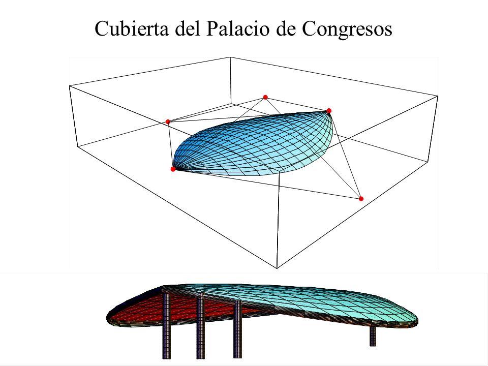 Cubierta del Palacio de Congresos
