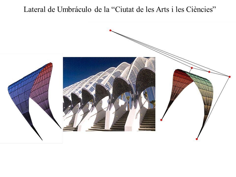Lateral de Umbráculo de la Ciutat de les Arts i les Ciències