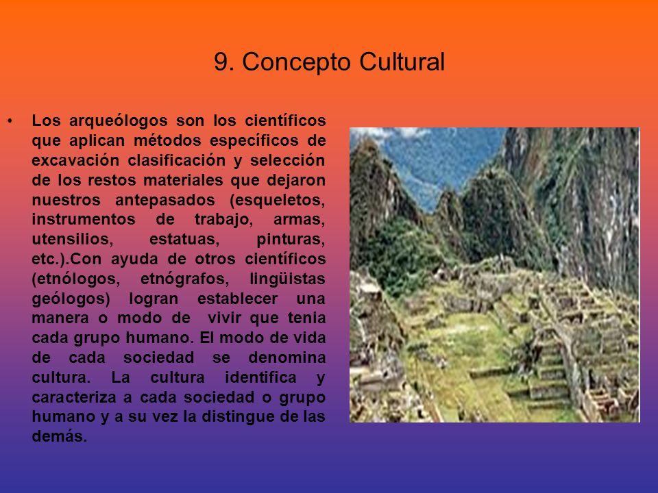 9. Concepto Cultural