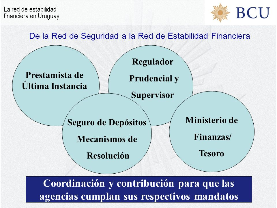 De la Red de Seguridad a la Red de Estabilidad Financiera