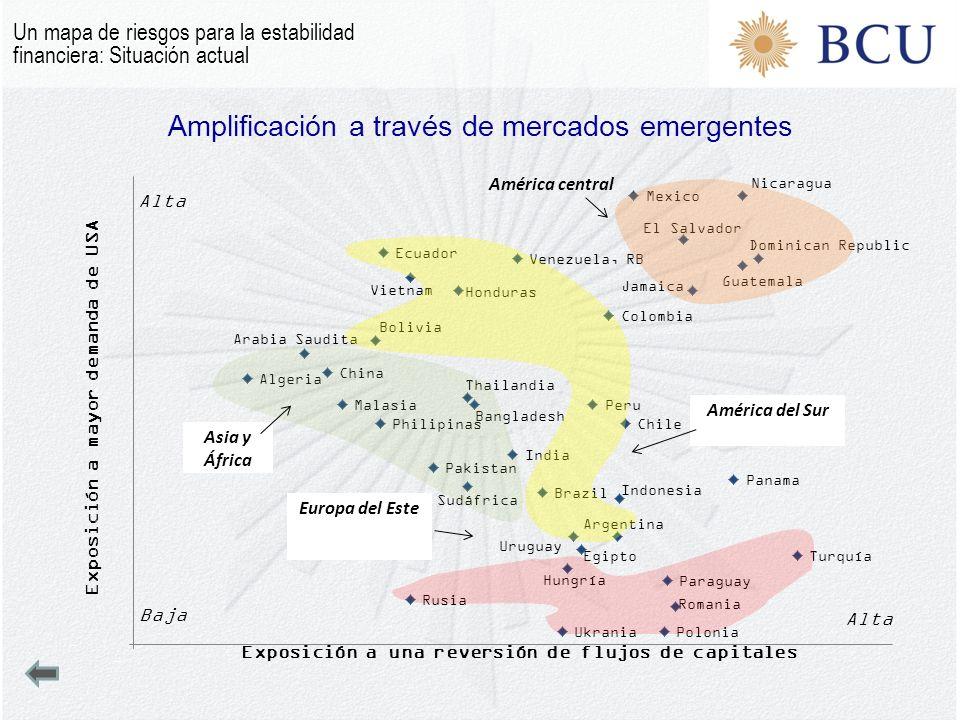 Amplificación a través de mercados emergentes