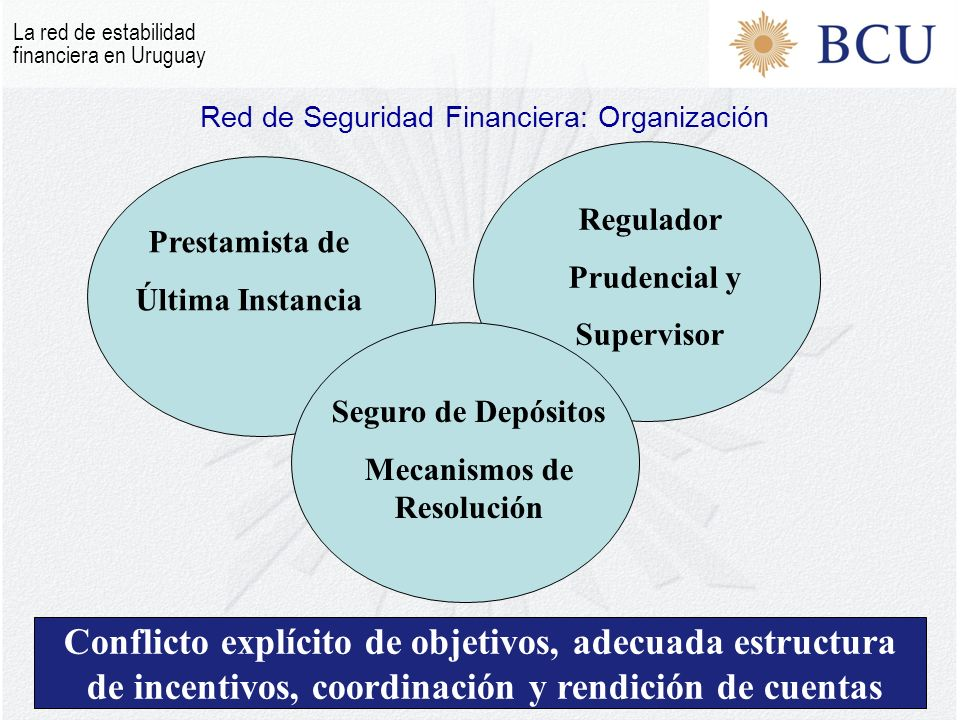 Red de Seguridad Financiera: Organización