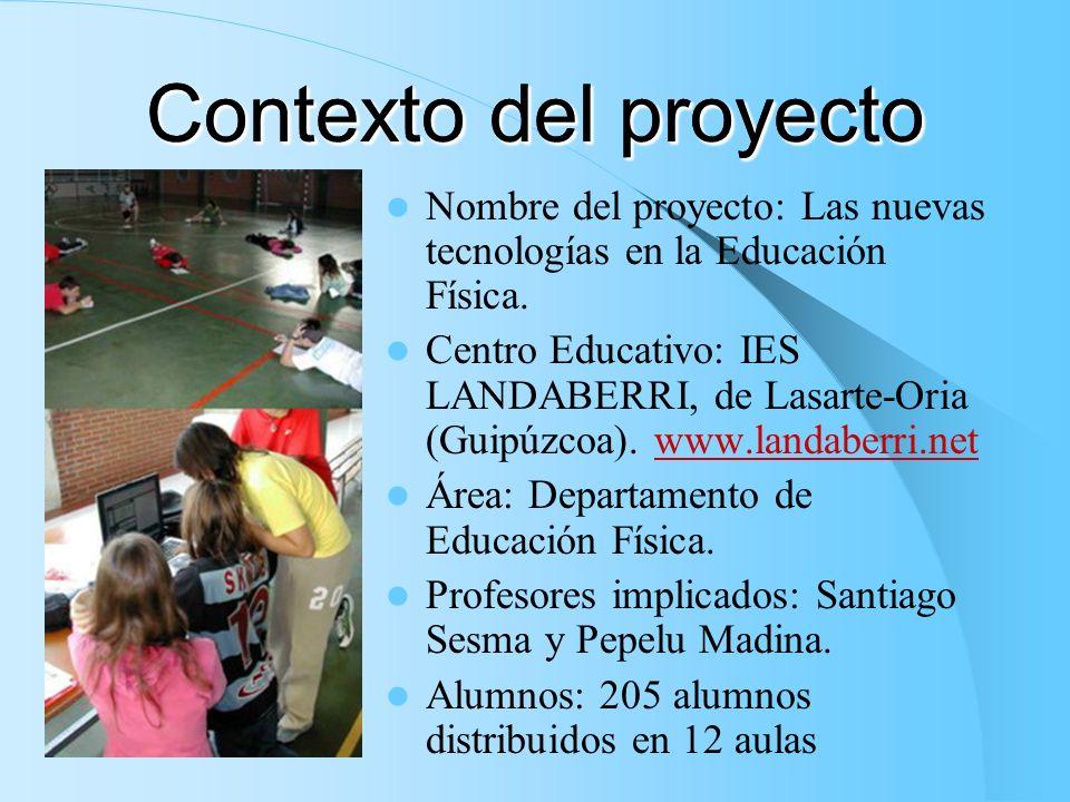 Contexto del proyecto Contexto del proyecto