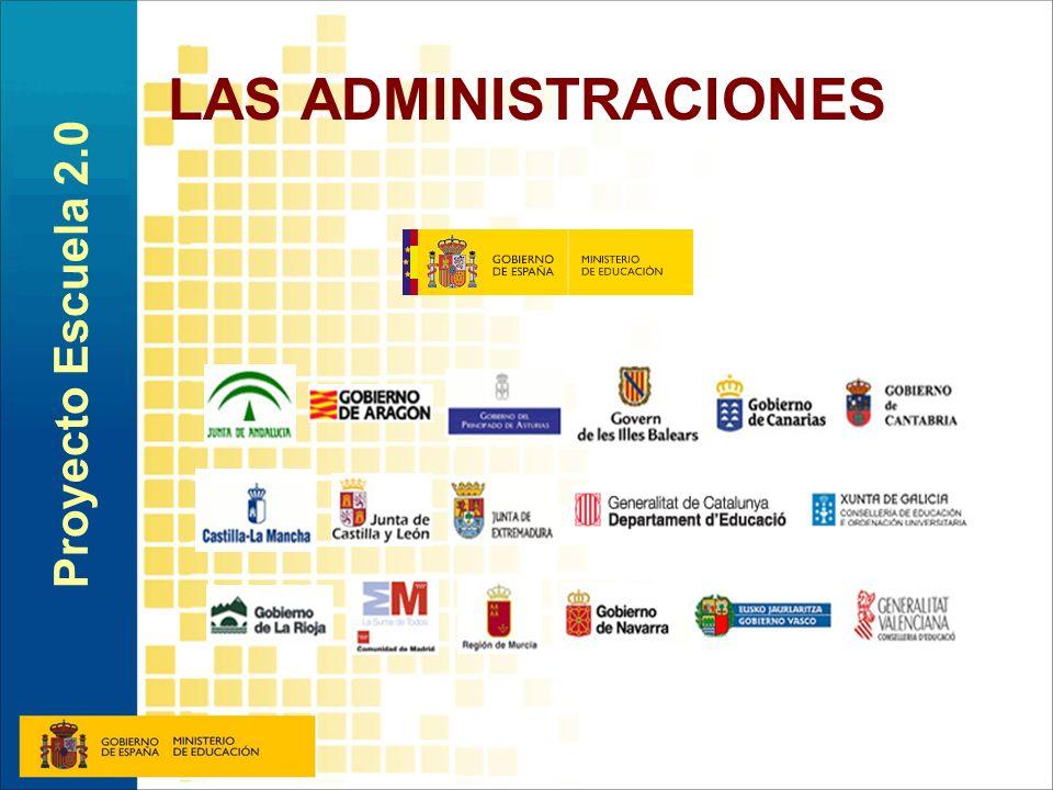 LAS ADMINISTRACIONES Proyecto Escuela 2.0