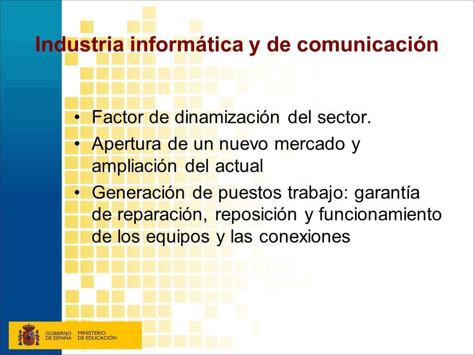 Industria informática y de comunicación