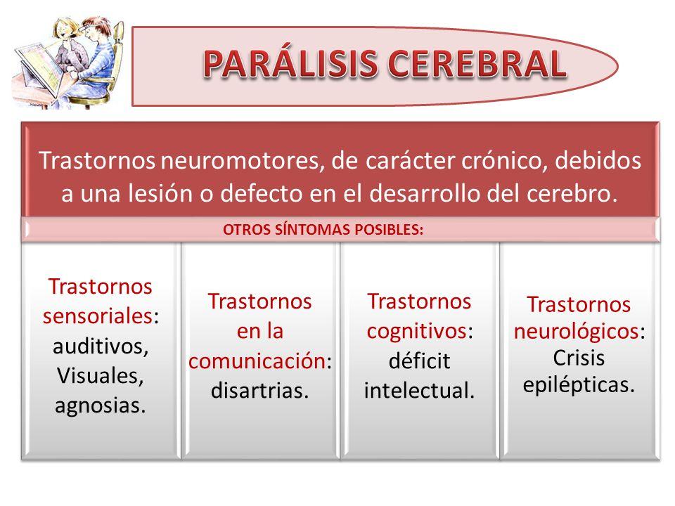 PARÁLISIS CEREBRAL OTROS SÍNTOMAS POSIBLES: