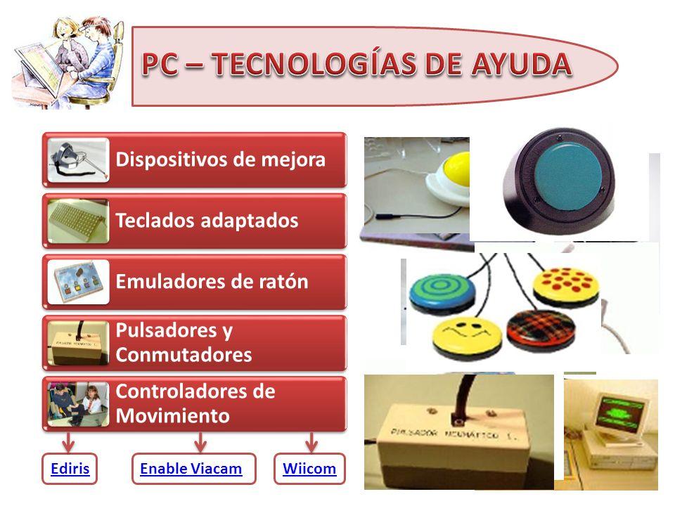 PC – TECNOLOGÍAS DE AYUDA