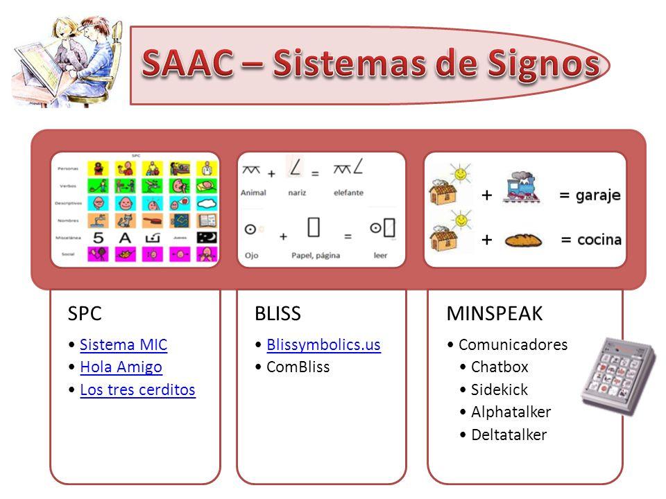 SAAC – Sistemas de Signos