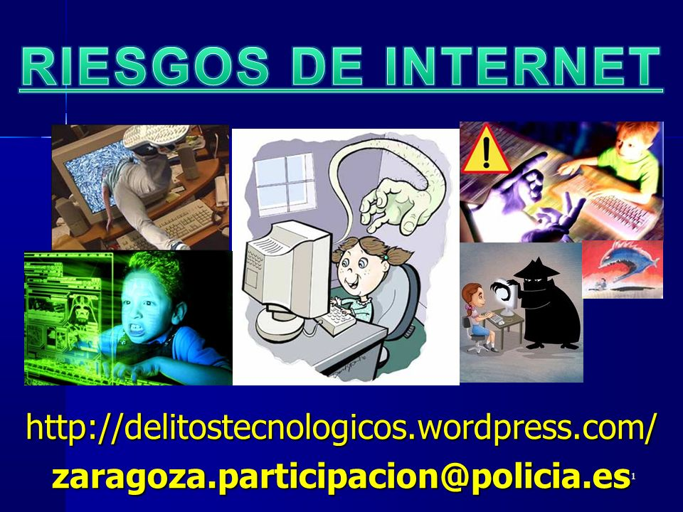 RIESGOS DE INTERNET http://delitostecnologicos.wordpress.com/