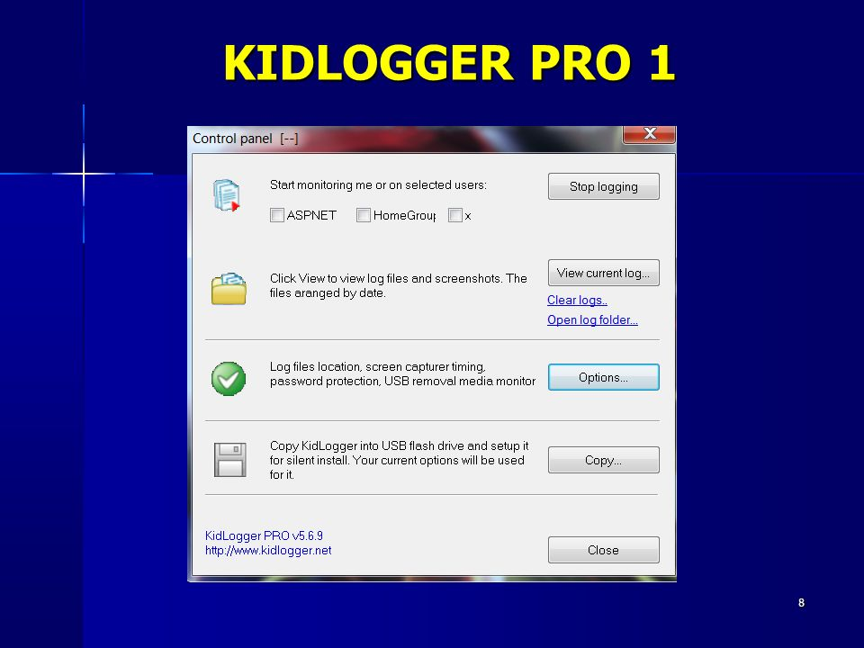KIDLOGGER PRO 1 8 8