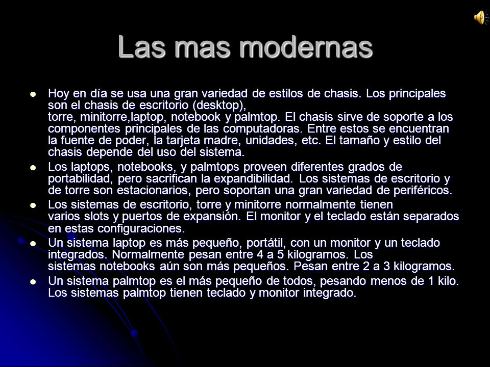 Las mas modernas