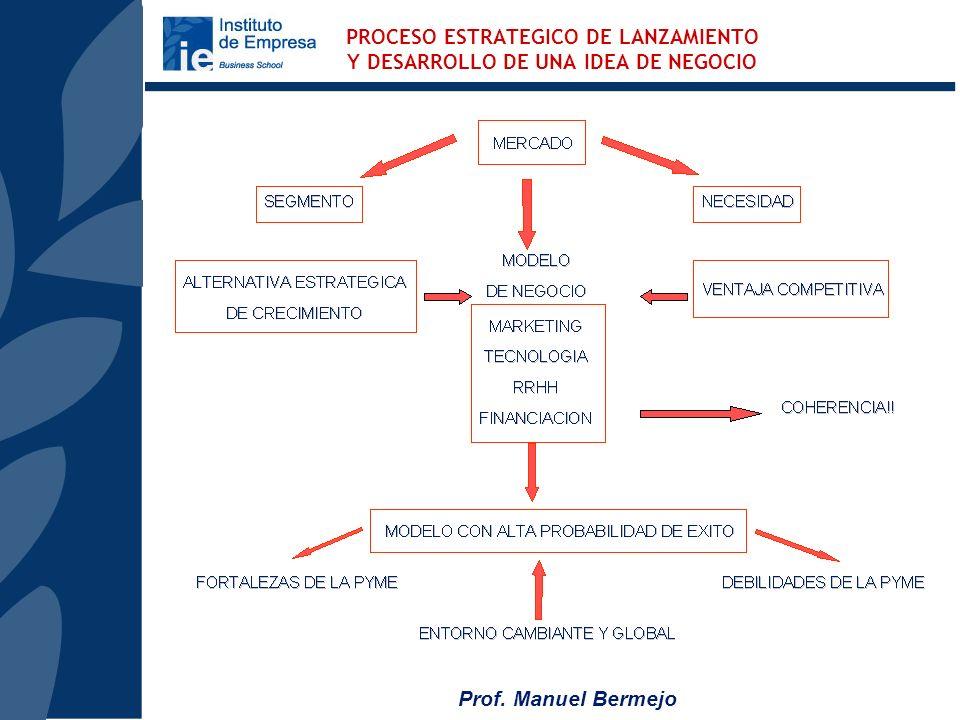 PROCESO ESTRATEGICO DE LANZAMIENTO Y DESARROLLO DE UNA IDEA DE NEGOCIO