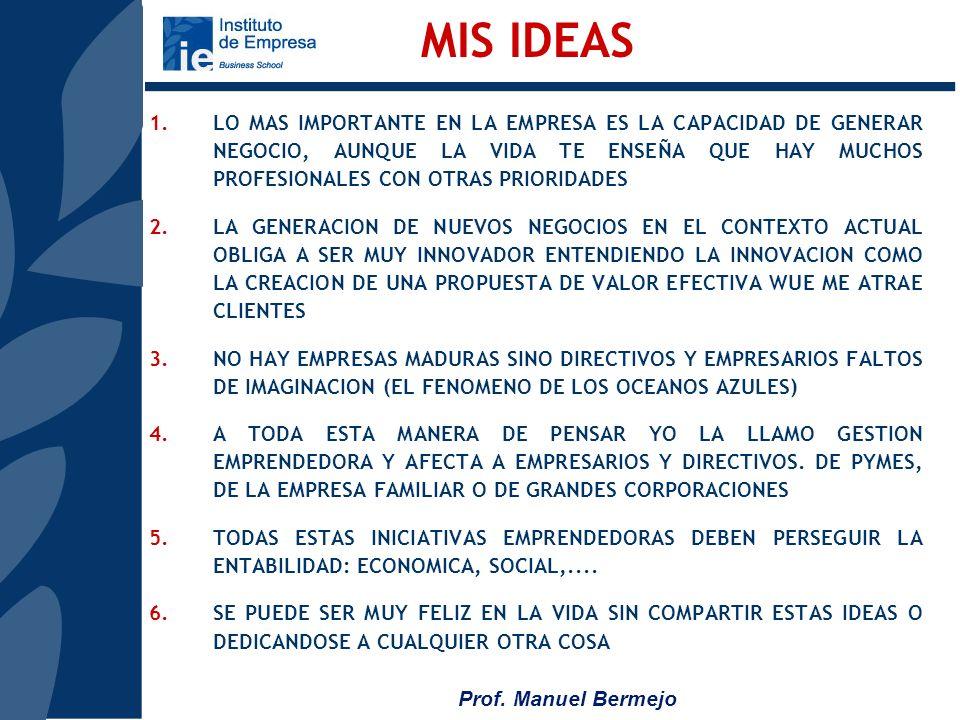 MIS IDEAS