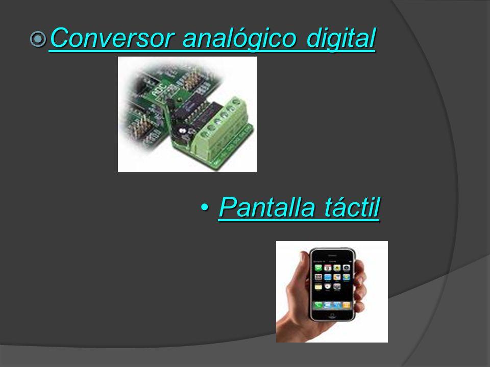 Conversor analógico digital
