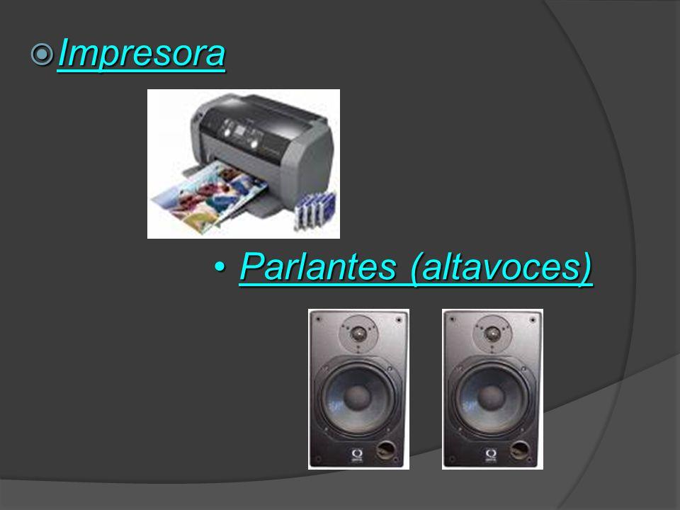 Impresora Parlantes (altavoces)