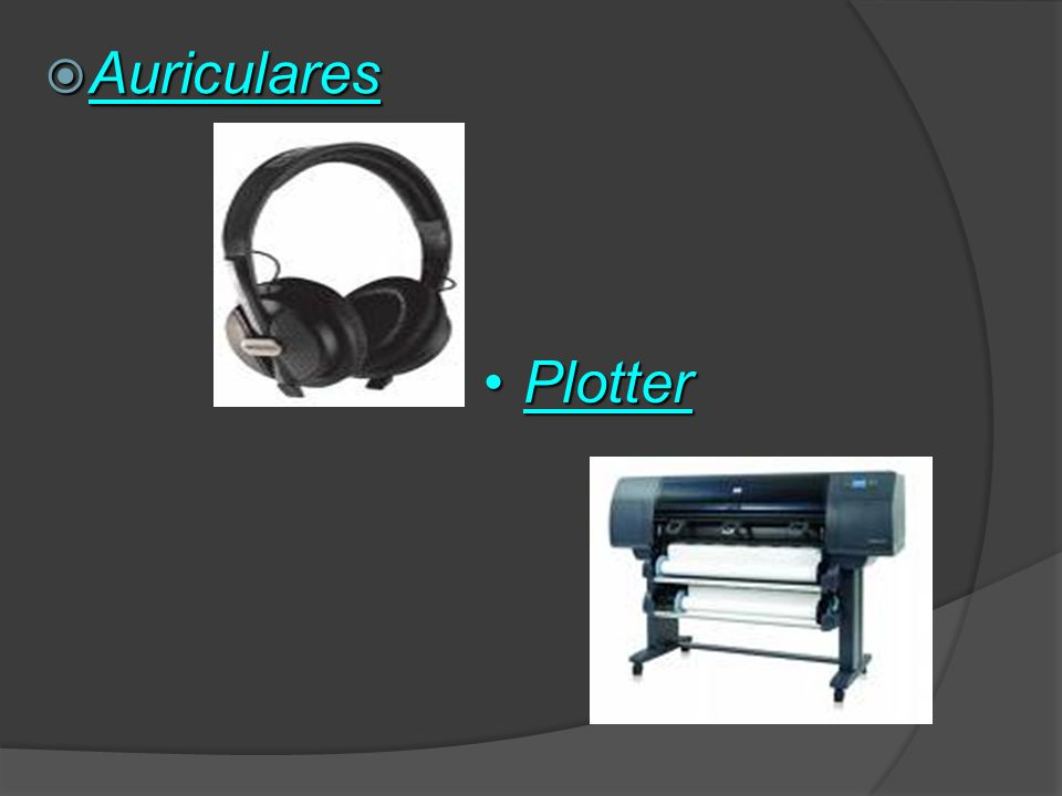 Auriculares Plotter