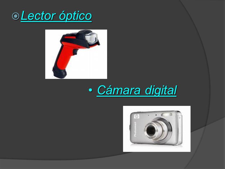 Lector óptico Cámara digital