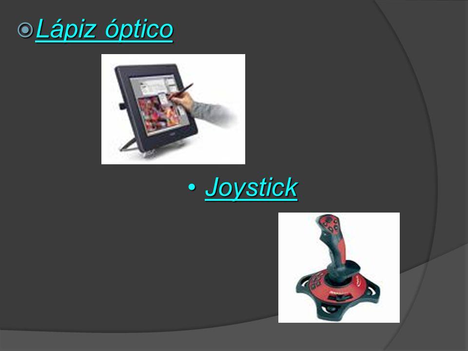 Lápiz óptico Joystick