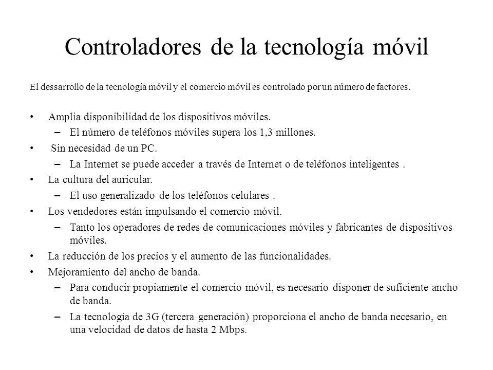 Controladores de la tecnología móvil