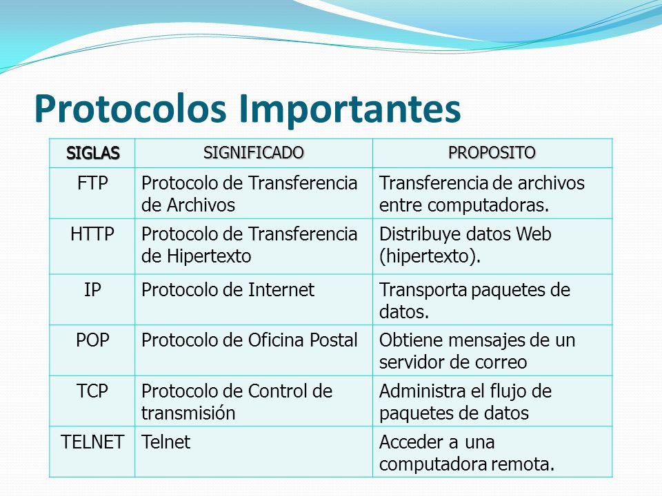 Protocolos Importantes