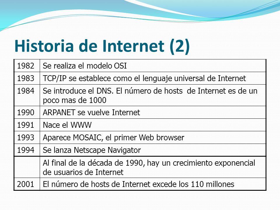 Historia de Internet (2)