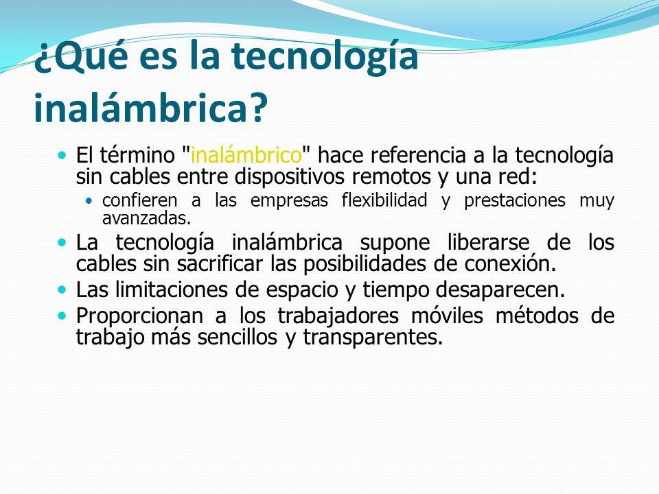 ¿Qué es la tecnología inalámbrica
