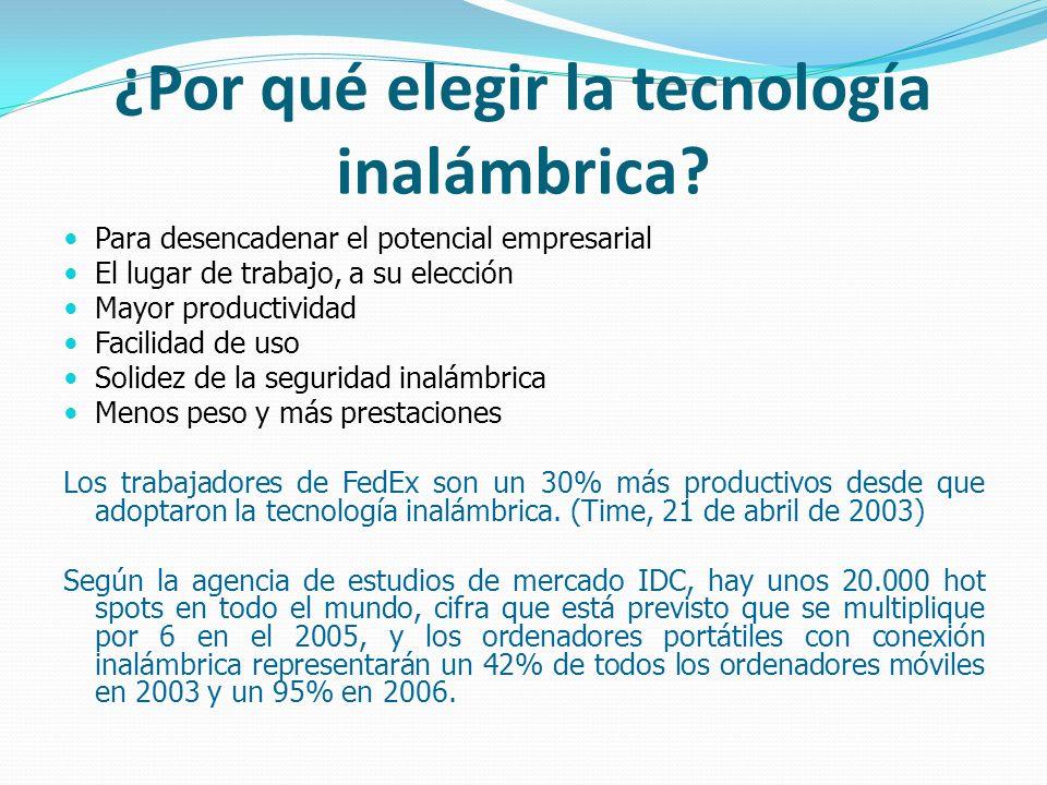 ¿Por qué elegir la tecnología inalámbrica