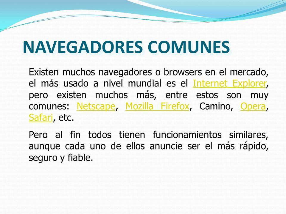 NAVEGADORES COMUNES