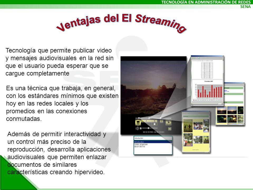 Ventajas del El Streaming