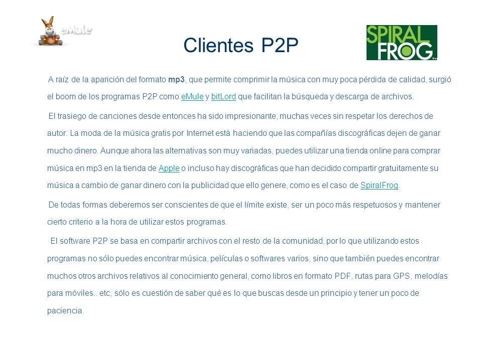 Clientes P2P