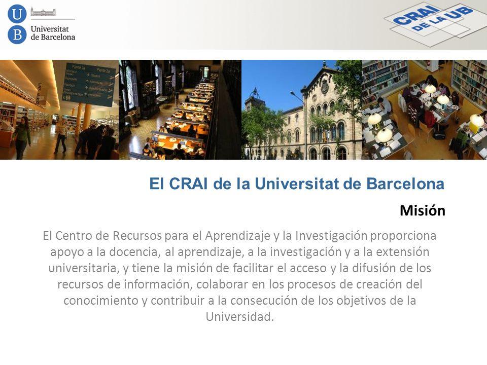 El CRAI de la Universitat de Barcelona