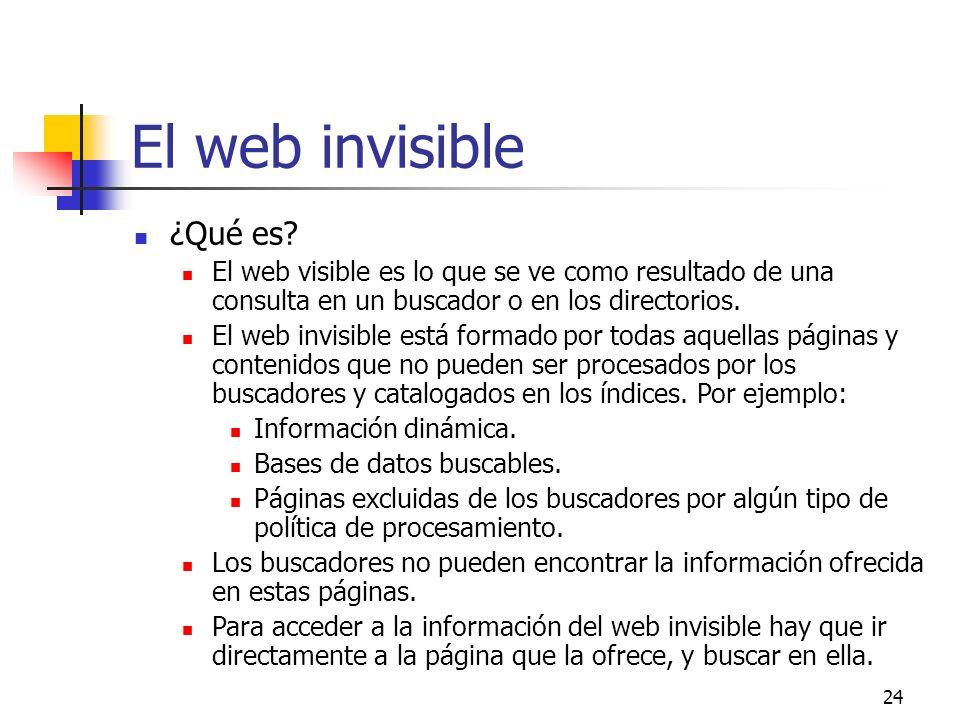 El web invisible ¿Qué es