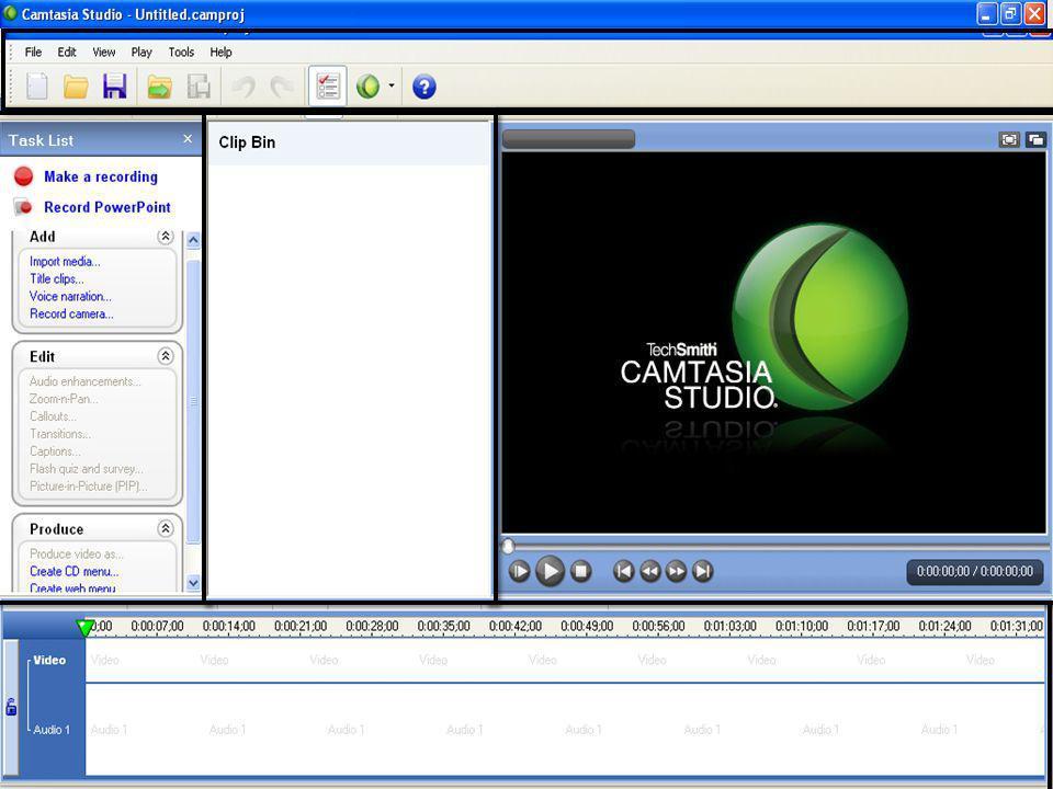 Barra de tareas pendientes y colecciones multimedia importadas.